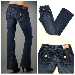 True Religion Joey Big T Flare Jeans